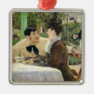 Manet | The Garden of Pere Lathuille, 1879 Metal Ornament