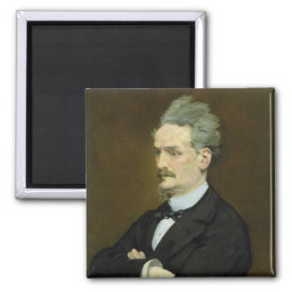Manet | The Journalist Henri Rochefort , 1881 Magnet