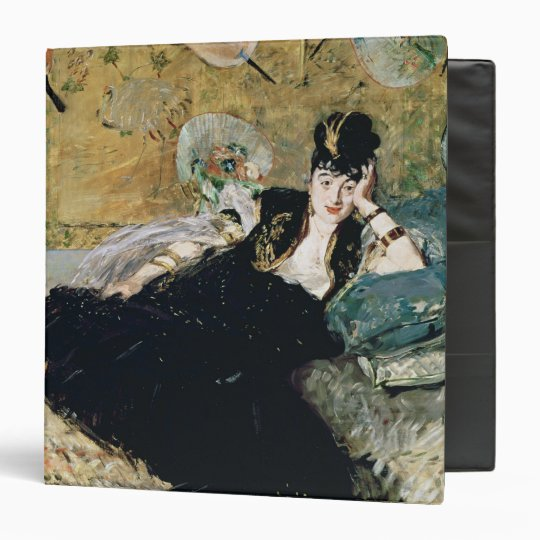 Manet | The Lady with Fans 3 Ring Binder