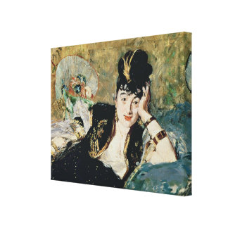 Manet   The Lady with Fans Canvas Print