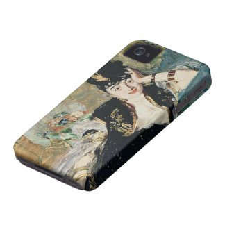 Manet | The Lady with Fans iPhone 4 Case