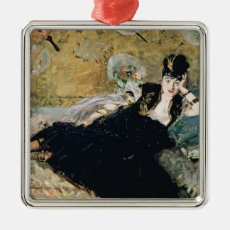 Manet | The Lady with Fans Metal Ornament