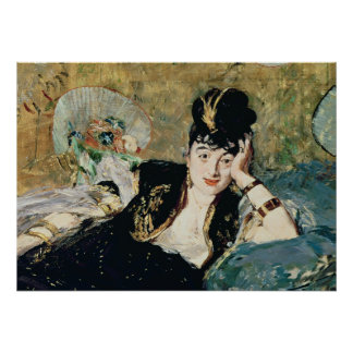 Manet | The Lady with Fans Poster
