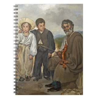 Manet | The Old Musician, 1862 Notebook