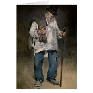 Manet   The Ragman, 1869 Card