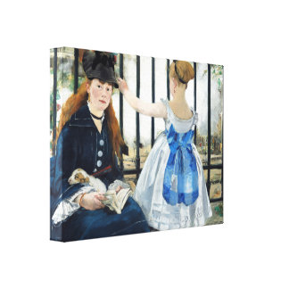 Manet The Railway Canvas Print