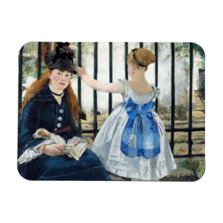Manet The Railway Magnet