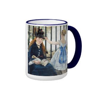 Manet The Railway Mug