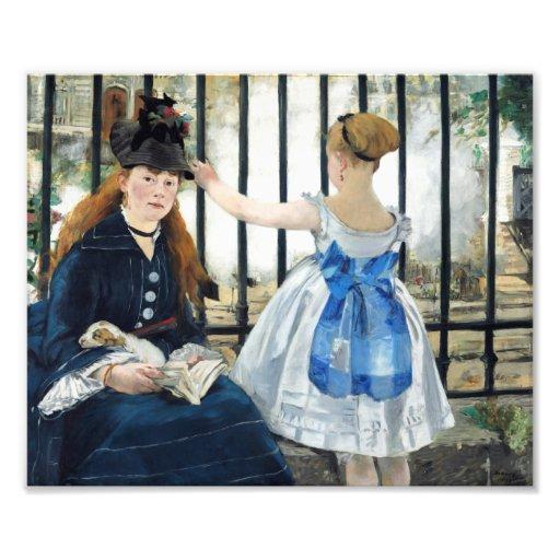 Manet The Railway Print Photo
