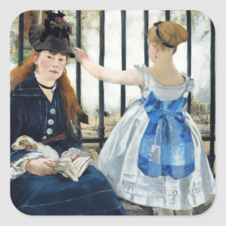 Manet The Railway Stickers