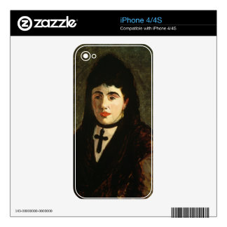 Manet | The Spaniard iPhone 4S Skins