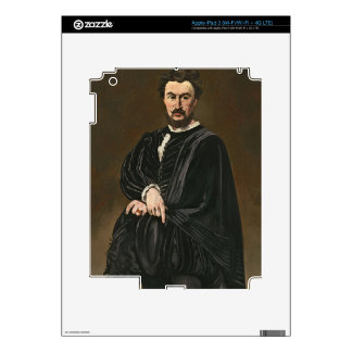 Manet | The Tragedian Actor (Rouviere as Hamlet) iPad 3 Skin