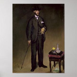 Manet | Theodore Duret Poster