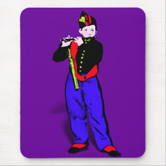 Manet's Little Flutist ala Mouse Pad