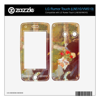 Manet's Mother by Edouard Manet Decal For LG Rumor Touch