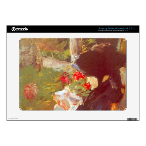 Manet's Mother by Edouard Manet Samsung Chromebook Decal