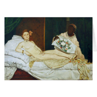Manet's Olympia Card