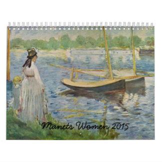 Manet's Women 2015 Calendar