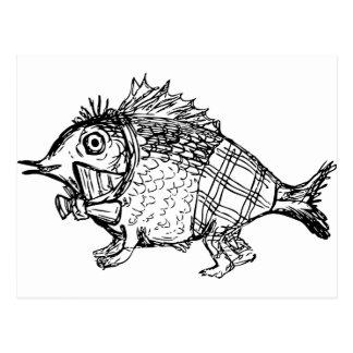 ManFish Postcard