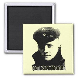 Manfred Von Richthofen 2 Inch Square Magnet