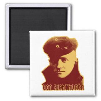 Manfred Von Richthofen - color Imán Cuadrado