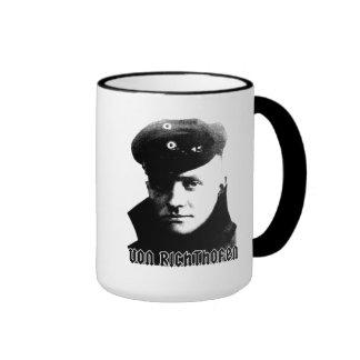 Manfred Von Richthofen Ringer Coffee Mug