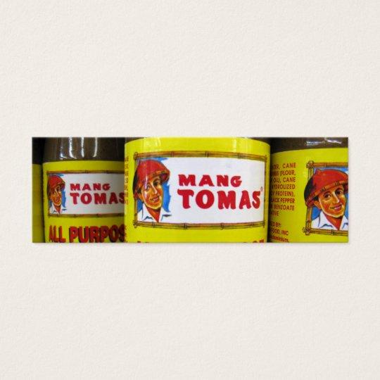 Mang Tomas Profile Card