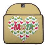 """Manga 13"""" de MacBook Pro del corazón de la """"mamá"""" Funda Macbook Pro"""
