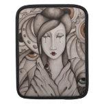 Manga abstracta del iPad del geisha Mangas De iPad