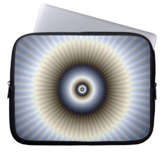Manga abstracta redonda del ordenador portátil funda ordendadores