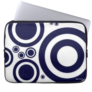Manga al azar azul marino del ordenador portátil fundas portátiles