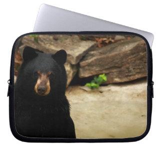 Manga amistosa de la electrónica del oso negro mangas portátiles
