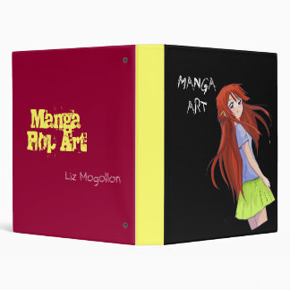 MANGA ART 3 RING BINDER