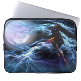 Manga astral del ordenador portátil de la tormenta funda portátil