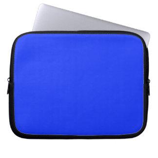 Manga azul brillante del ordenador portátil funda ordendadores