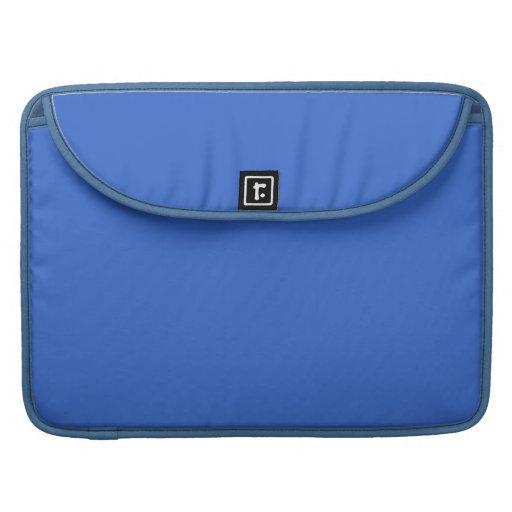 Manga azul de la aleta de Macbook del marino fresc Fundas Macbook Pro