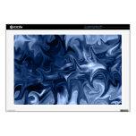 manga azul de la piel del arte abstracto 17laptop skins para 43,2cm portátiles
