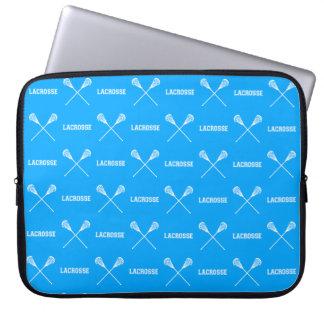 Manga azul del ordenador portátil de los palillos  manga computadora
