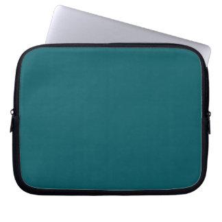 Manga azul del ordenador portátil del trullo de la manga portátil