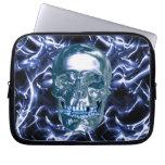 Manga azul eléctrica del ordenador portátil del cr mangas computadora