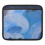 Manga azul girante del carrito del ipad del mar manga de iPad