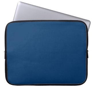 Manga azul marino sólida del ordenador portátil de mangas computadora