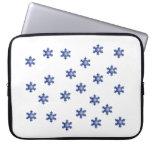 Manga azul múltiple del ordenador portátil de Star Fundas Portátiles