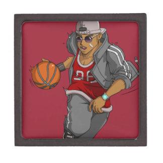 Manga Basketball player Jewelry Box