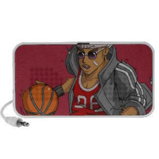Manga Basketball player Mp3 Speakers