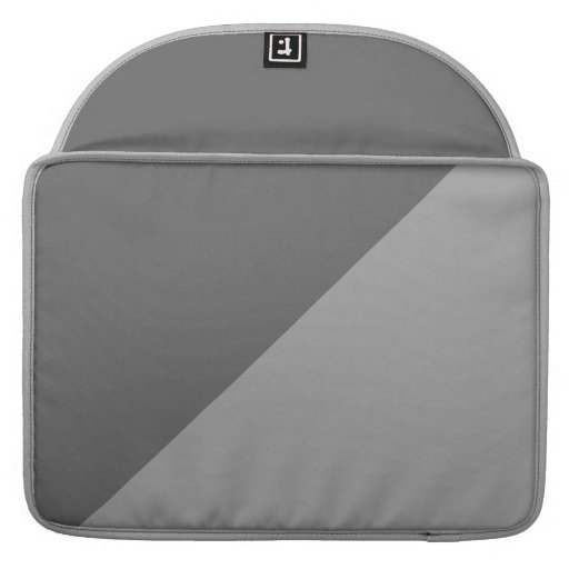 Manga bitonal de la aleta del carrito para MacBook Fundas Para Macbook Pro