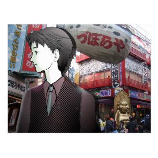 MANGA boy OSAKA Postcard