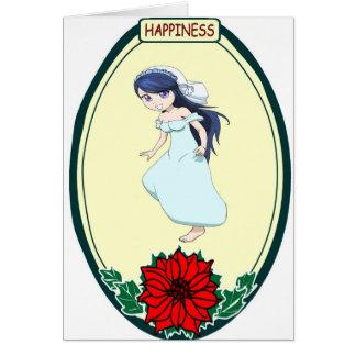 Manga bride, happiness card