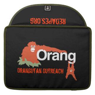 Manga/caso de Macbook del Outreach del orangután Funda Para Macbooks