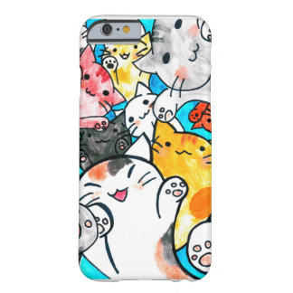 Manga cats conquer the world barely there iPhone 6 case